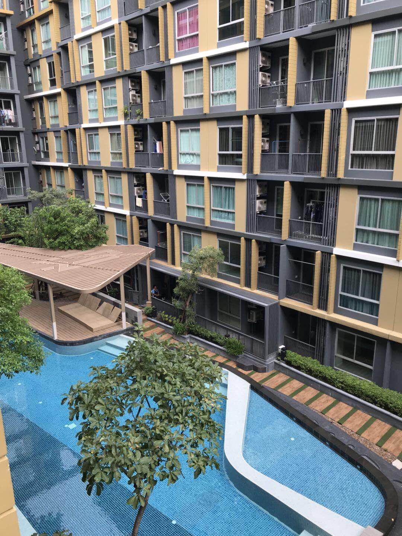 曼谷大学对面精装修全新 大都会公寓出租 BTS Ekamai