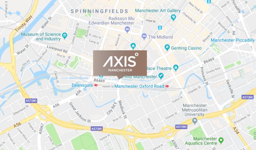 英国曼城未来Axis Tower出售