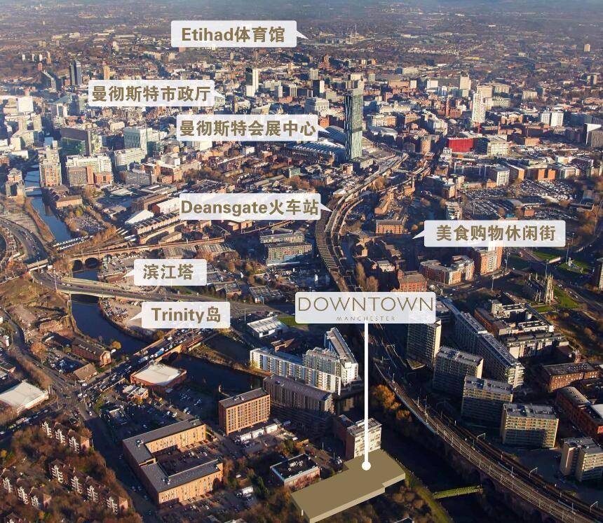 英国Downtown 曼徹斯特河畔精品住宅